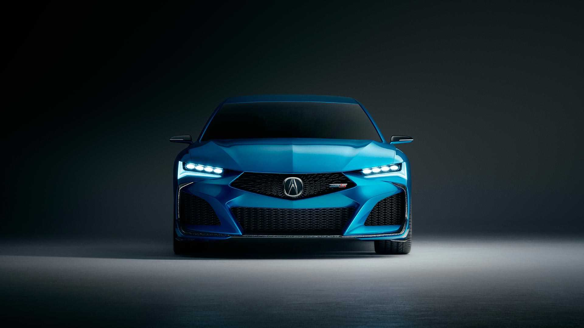 2019 Acura Type S Concept Front Wallpapers (3)