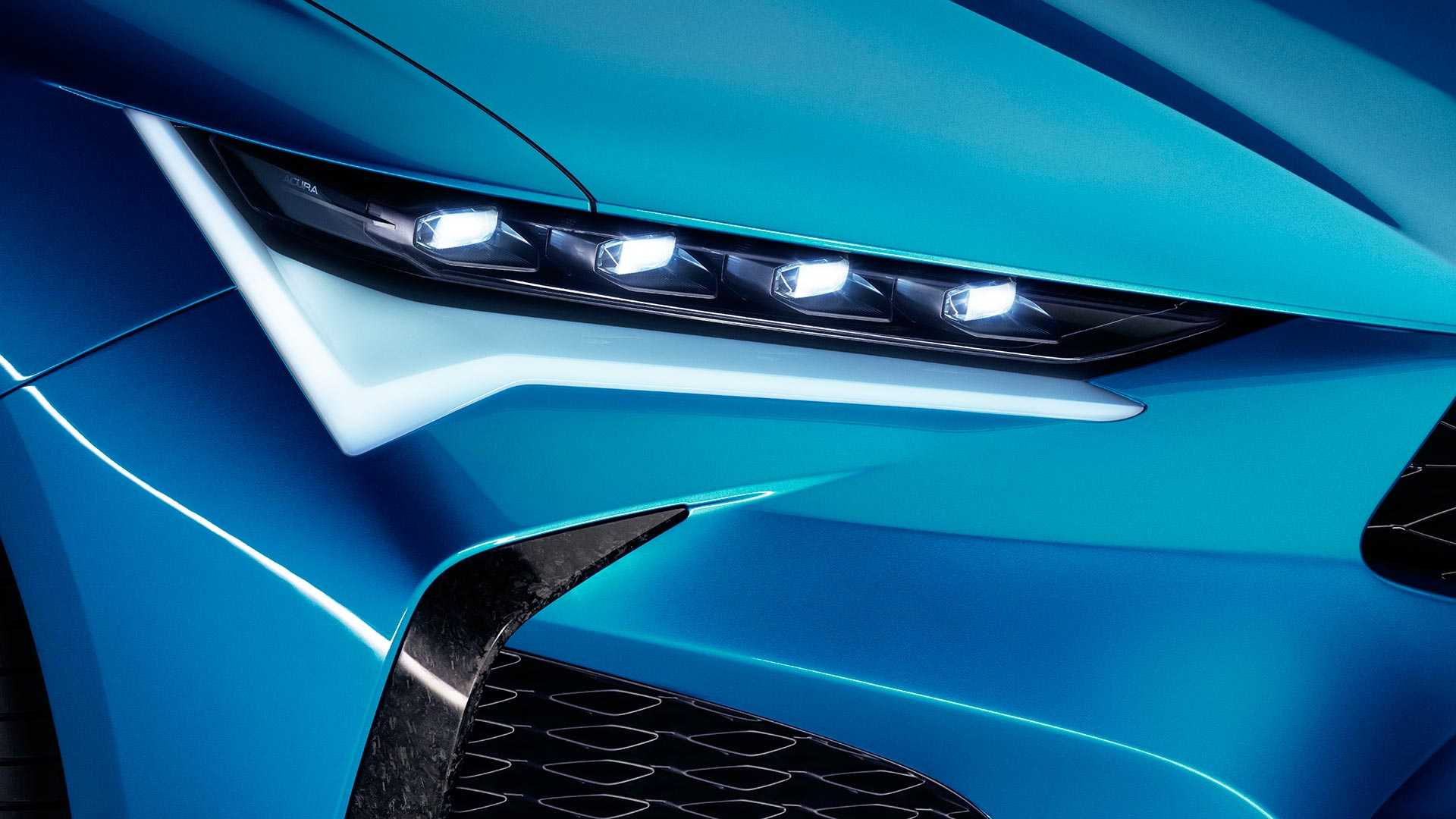 2019 Acura Type S Concept Headlight Wallpapers (10)