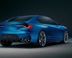 2019 Acura Type S Concept Rear Three-Quarter Wallpapers 150x120 (4)