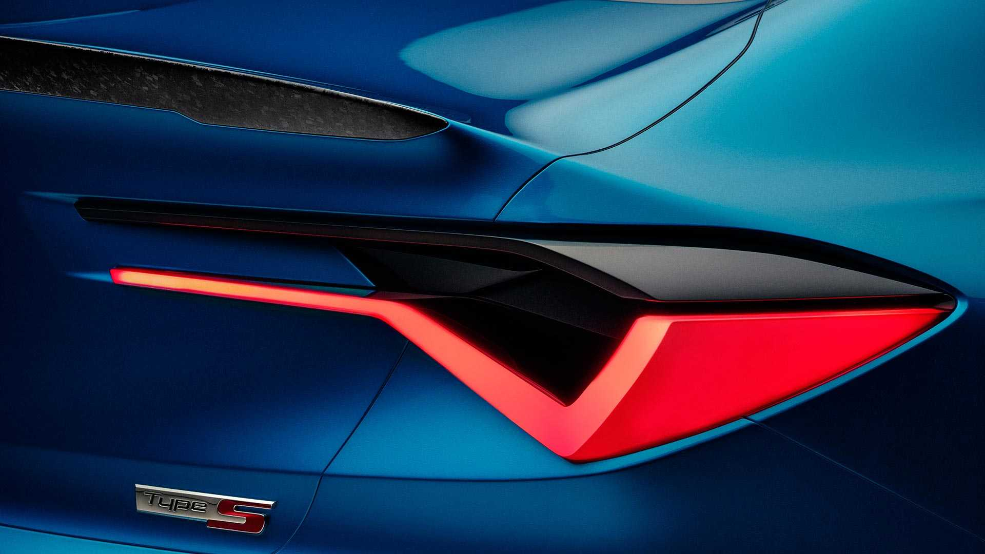 2019 Acura Type S Concept Tail Light Wallpapers (13)