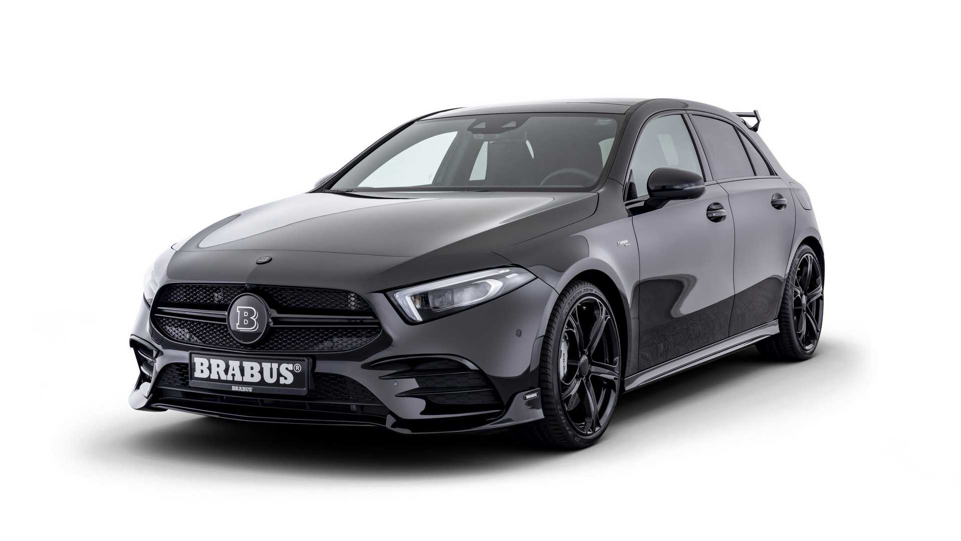 2019 BRABUS Mercedes-AMG A 35 Front Three-Quarter Wallpapers (1)