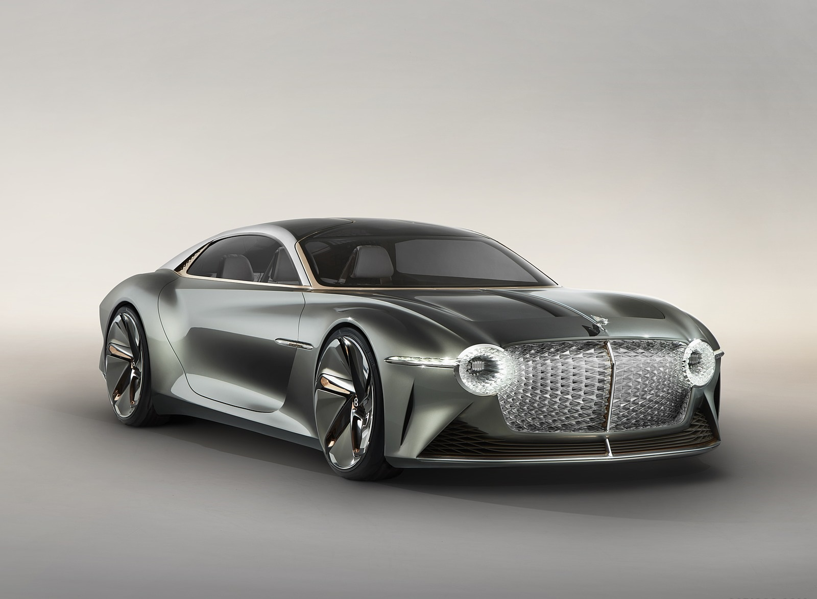 2019 Bentley EXP 100 GT Concept Front Three-Quarter Wallpapers (9)