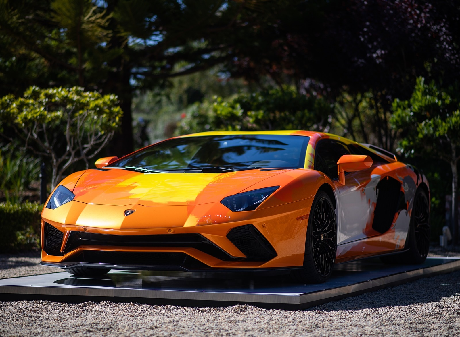 2019 Lamborghini Aventador S by Skyler Grey Front Three-Quarter Wallpapers (7)
