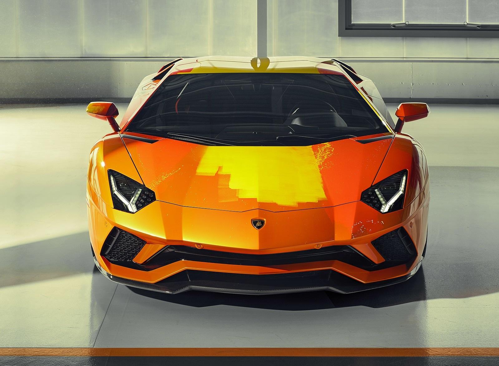 2019 Lamborghini Aventador S by Skyler Grey Front Wallpapers (9)