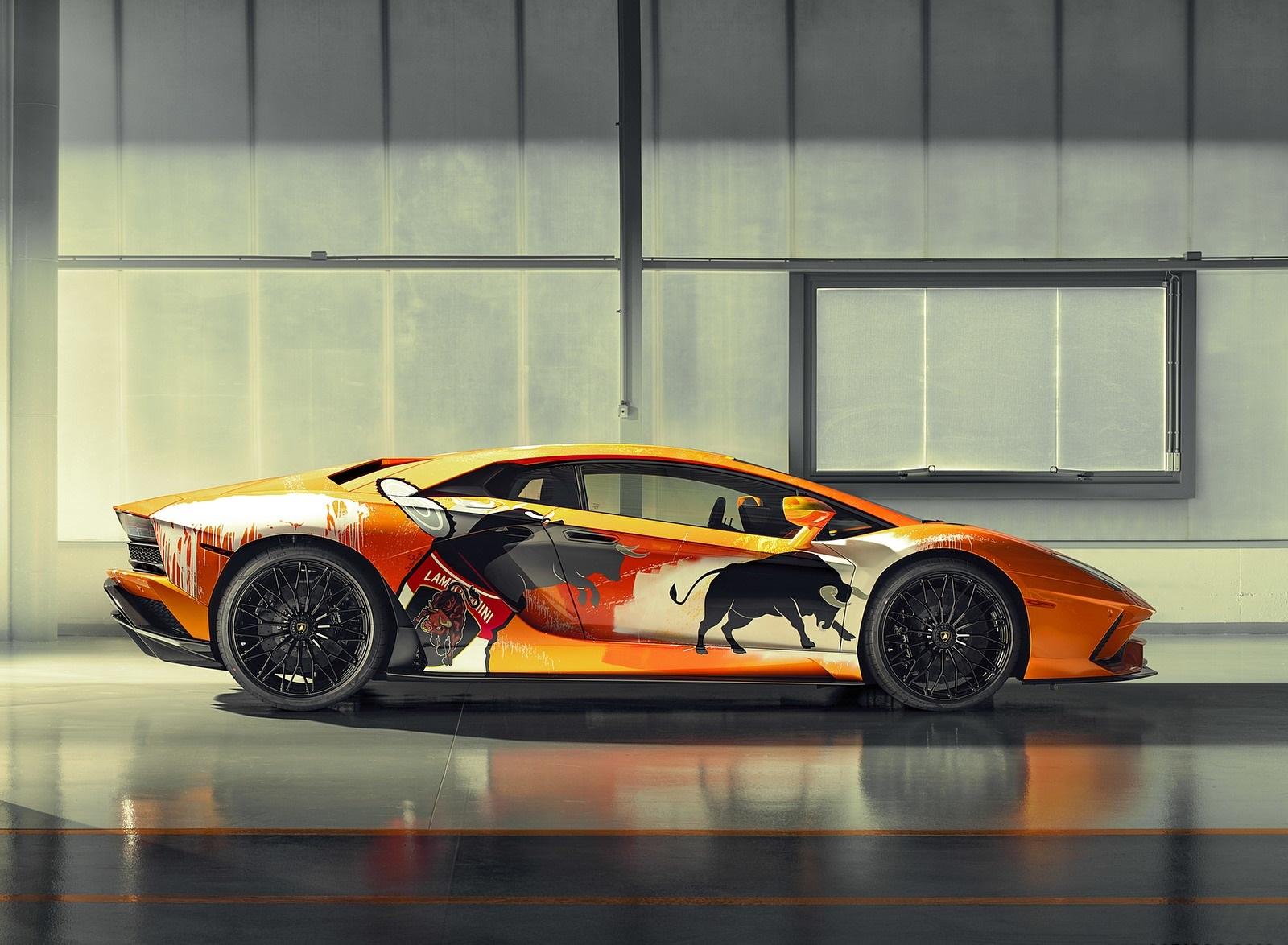 2019 Lamborghini Aventador S by Skyler Grey Side Wallpapers (5)