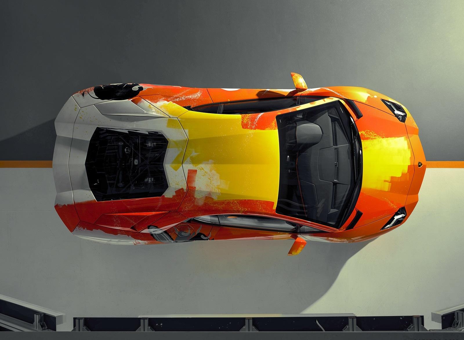 2019 Lamborghini Aventador S by Skyler Grey Top Wallpapers (12)