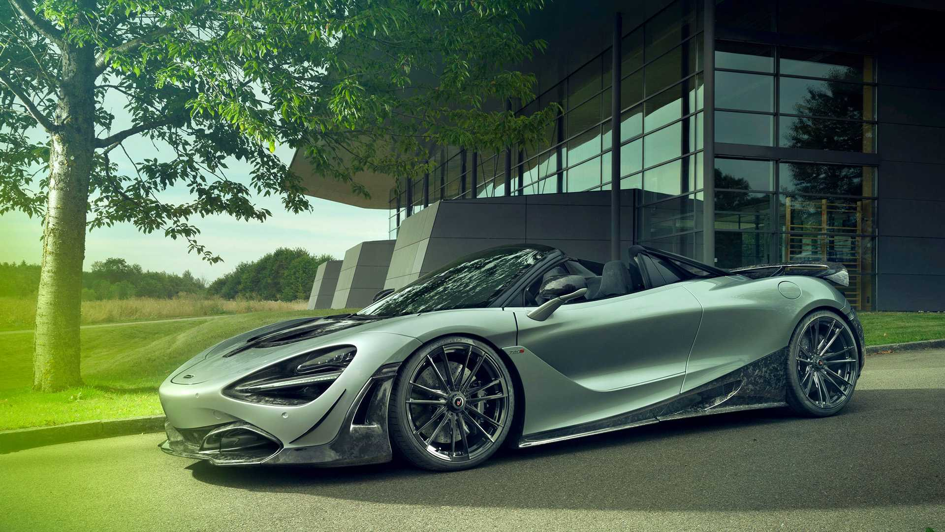 2019 NOVITEC McLaren 720S Spider Front Three-Quarter Wallpapers (2)