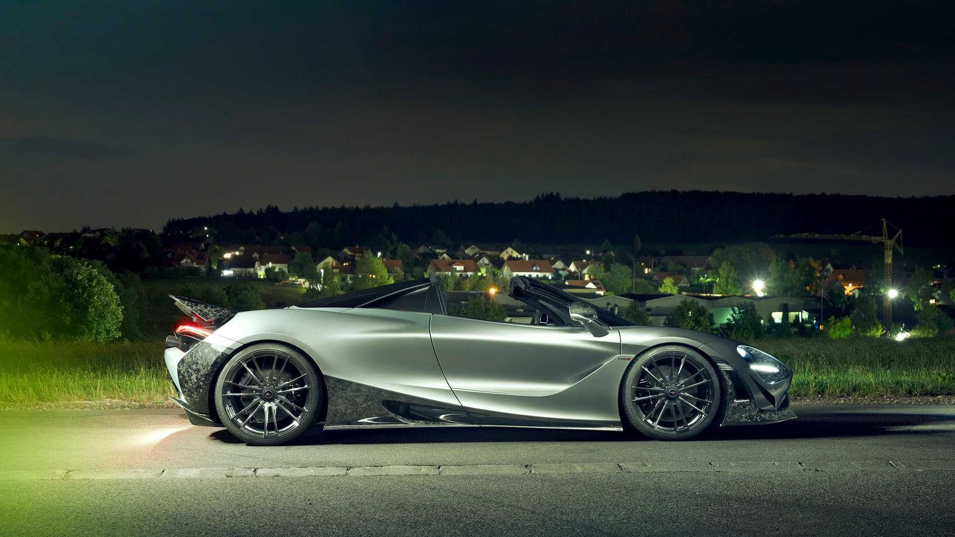 2019 NOVITEC McLaren 720S Spider Side Wallpapers (10)
