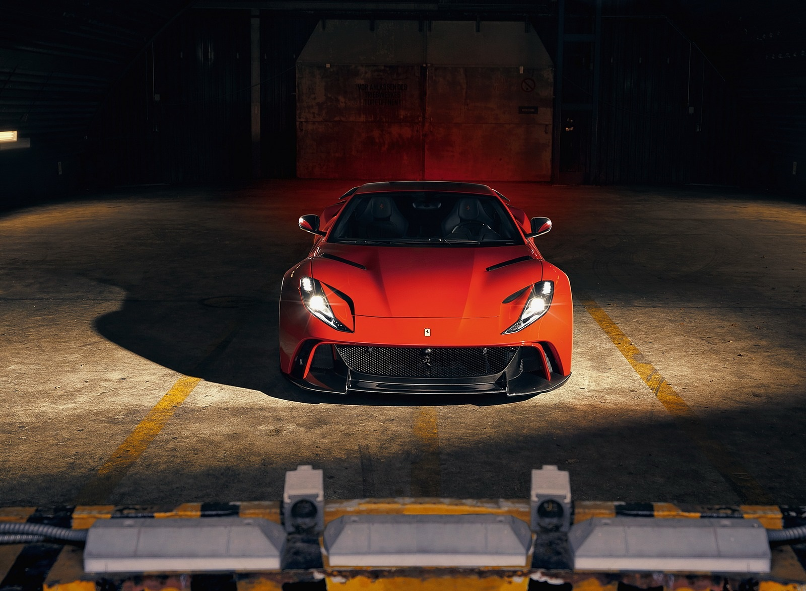 2019 NOVITEC N-LARGO based on Ferrari 812 Superfast Front Wallpapers (7)