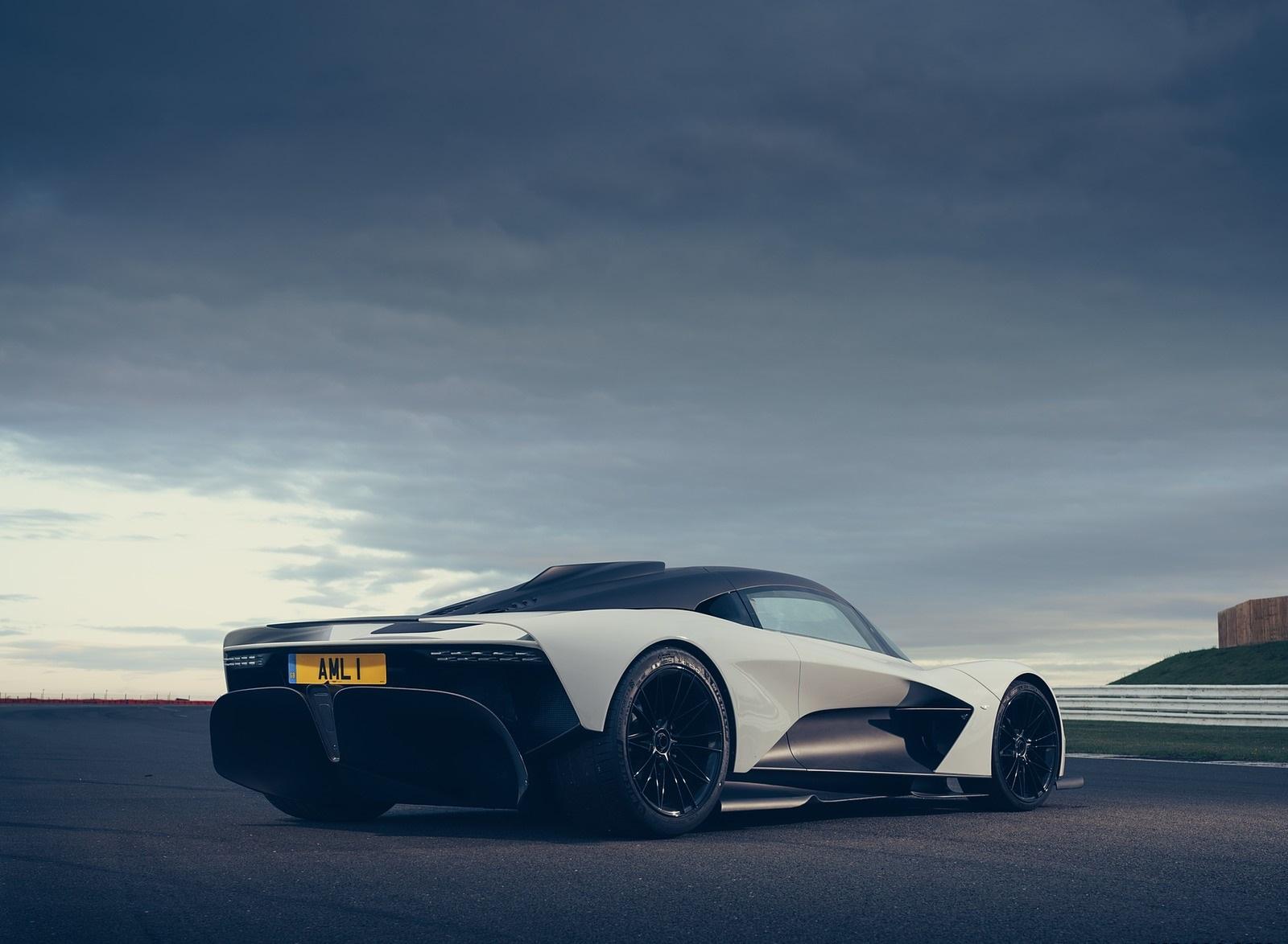 2020 Aston Martin Valhalla Rear Three-Quarter Wallpapers (5)