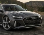 2020 Audi RS 6 Avant (Color: Daytona Gray Matt) Front Bumper Wallpapers 150x120 (31)