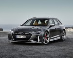 2020 Audi RS 6 Avant (Color: Daytona Gray Matt) Front Three-Quarter Wallpapers 150x120 (41)