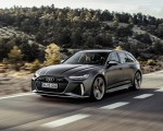2020 Audi RS 6 Avant (Color: Daytona Gray Matt) Front Three-Quarter Wallpapers 150x120 (32)