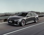 2020 Audi RS 6 Avant (Color: Daytona Gray Matt) Front Three-Quarter Wallpapers 150x120 (33)