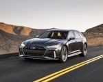2020 Audi RS 6 Avant (Color: Daytona Gray Matt) Front Three-Quarter Wallpapers 150x120 (22)