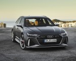 2020 Audi RS 6 Avant (Color: Daytona Gray Matt) Front Wallpapers 150x120 (43)