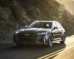 2020 Audi RS 6 Avant (Color: Daytona Gray Matt) Front Wallpapers 150x120 (23)