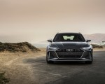 2020 Audi RS 6 Avant (Color: Daytona Gray Matt) Front Wallpapers 150x120 (29)