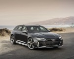 2020 Audi RS 6 Avant (Color: Daytona Gray Matt) Front Wallpapers 150x120 (24)