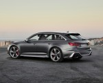 2020 Audi RS 6 Avant (Color: Daytona Gray Matt) Rear Three-Quarter Wallpapers 150x120 (44)