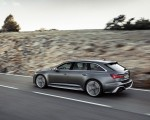 2020 Audi RS 6 Avant (Color: Daytona Gray Matt) Rear Three-Quarter Wallpapers 150x120 (37)