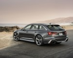 2020 Audi RS 6 Avant (Color: Daytona Gray Matt) Rear Three-Quarter Wallpapers 150x120 (25)