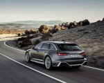 2020 Audi RS 6 Avant (Color: Daytona Gray Matt) Rear Three-Quarter Wallpapers 150x120 (38)