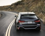 2020 Audi RS 6 Avant (Color: Daytona Gray Matt) Rear Wallpapers 150x120 (27)