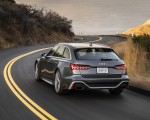 2020 Audi RS 6 Avant (Color: Daytona Gray Matt) Rear Wallpapers 150x120 (28)