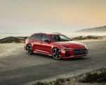 2020 Audi RS 6 Avant (Color: Tango Red) Front Three-Quarter Wallpapers 150x120 (6)