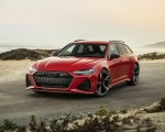 2020 Audi RS 6 Avant (Color: Tango Red) Front Wallpapers 150x120 (7)