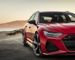 2020 Audi RS 6 Avant (Color: Tango Red) Headlight Wallpapers 150x120 (13)