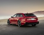 2020 Audi RS 6 Avant (Color: Tango Red) Rear Three-Quarter Wallpapers 150x120 (10)