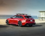 2020 Audi RS 6 Avant (Color: Tango Red) Rear Three-Quarter Wallpapers 150x120 (8)