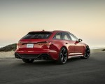 2020 Audi RS 6 Avant (Color: Tango Red) Rear Three-Quarter Wallpapers 150x120 (9)