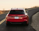 2020 Audi RS 6 Avant (Color: Tango Red) Rear Wallpapers 150x120 (5)