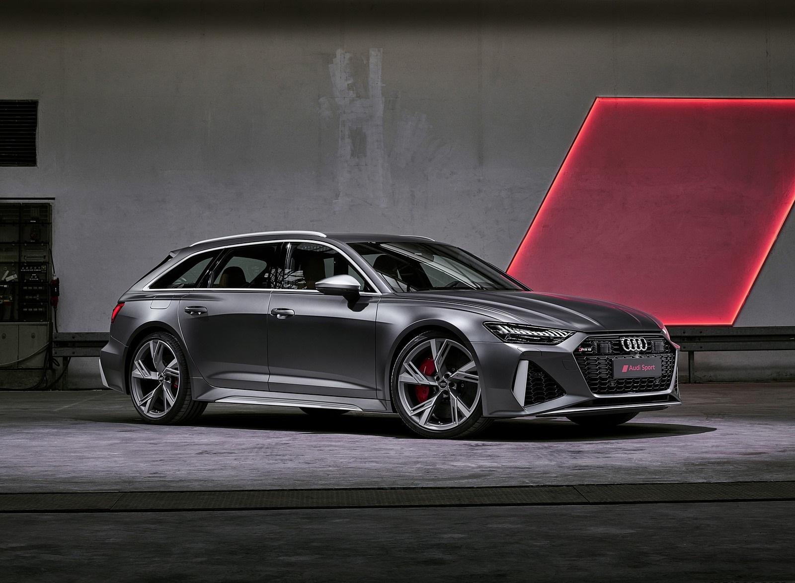 2020 Audi RS 6 Avant Front Three-Quarter Wallpapers (4)