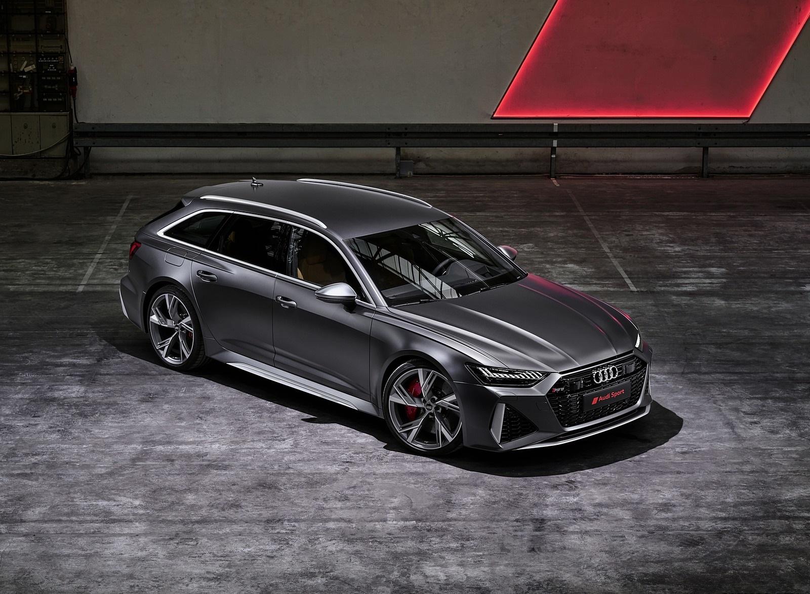 2020 Audi RS 6 Avant Front Three-Quarter Wallpapers (6)