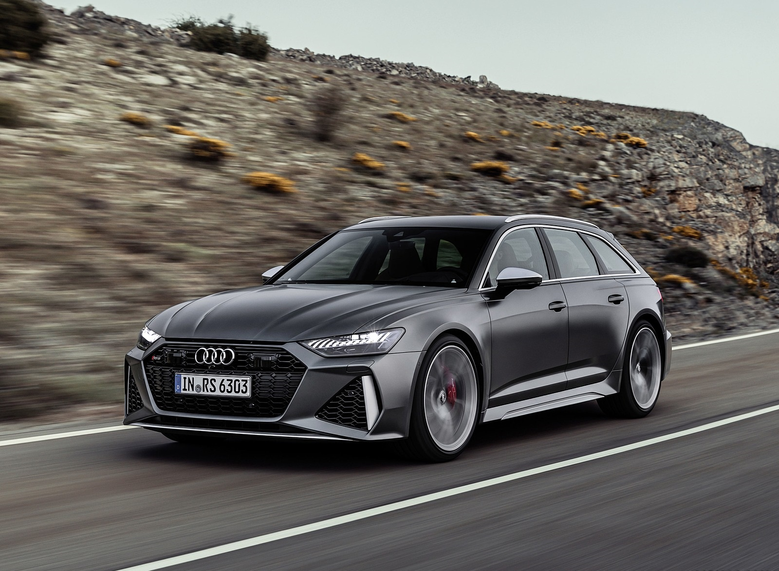 2020 Audi RS 6 Avant Front Three-Quarter Wallpapers (1)