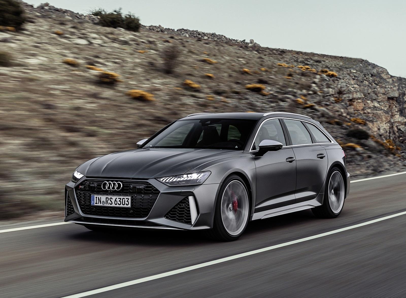 2020 Audi RS 6 Avant Front Three-Quarter Wallpapers (1)