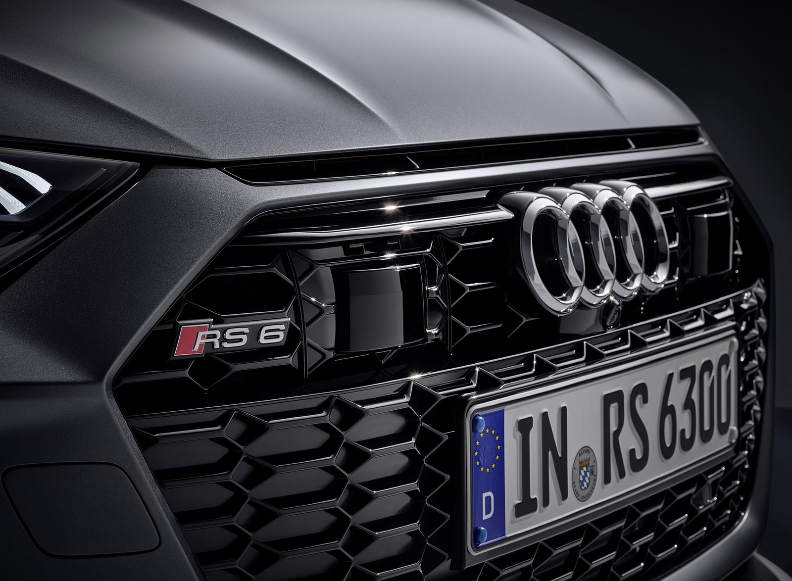 2020 Audi RS 6 Avant Grill Wallpapers (15)