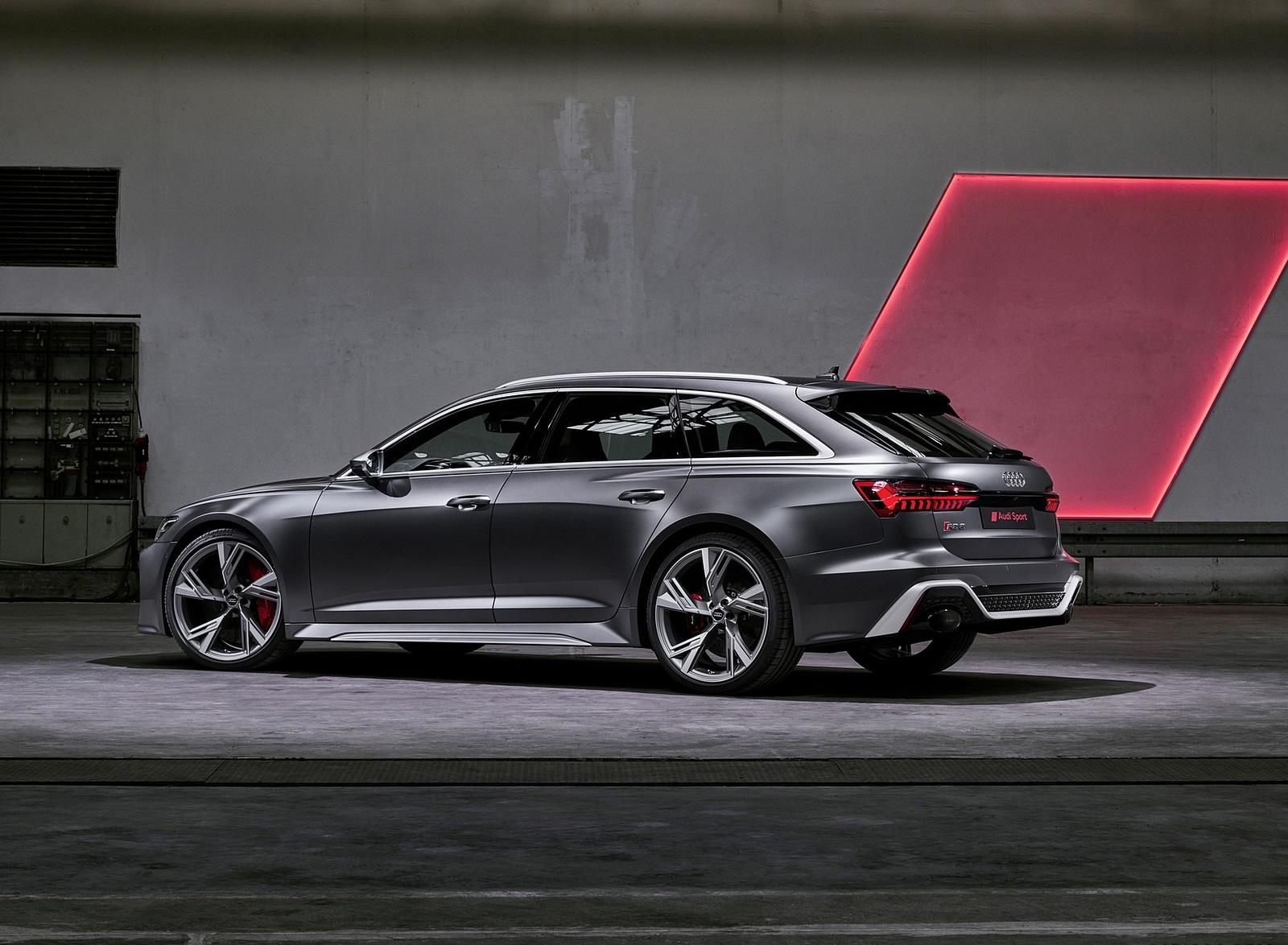 2020 Audi RS 6 Avant Rear Three-Quarter Wallpapers (8)