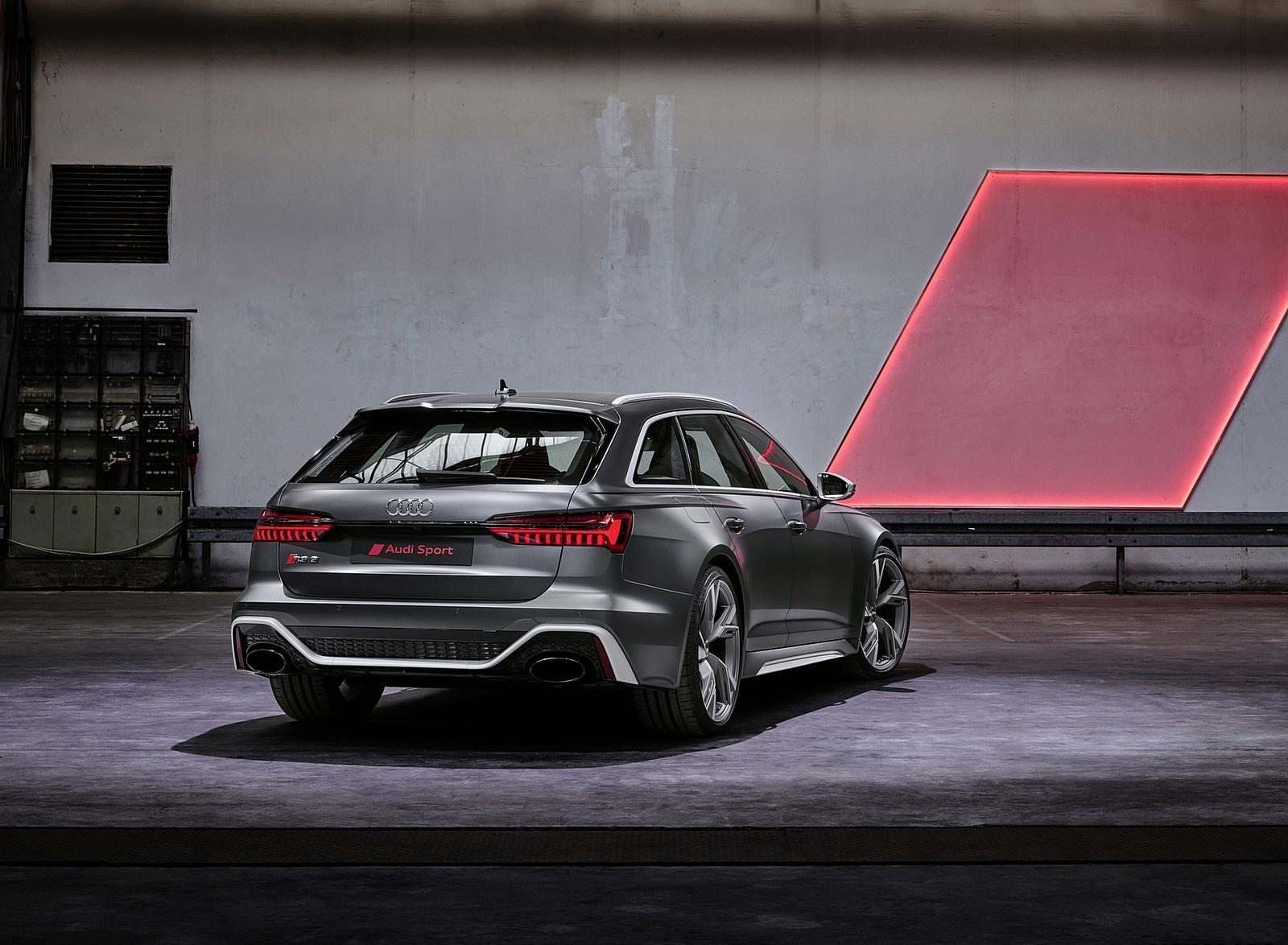 2020 Audi RS 6 Avant Rear Three-Quarter Wallpapers (9)