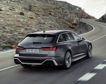 2020 Audi RS 6 Avant Rear Three-Quarter Wallpapers 150x120 (2)
