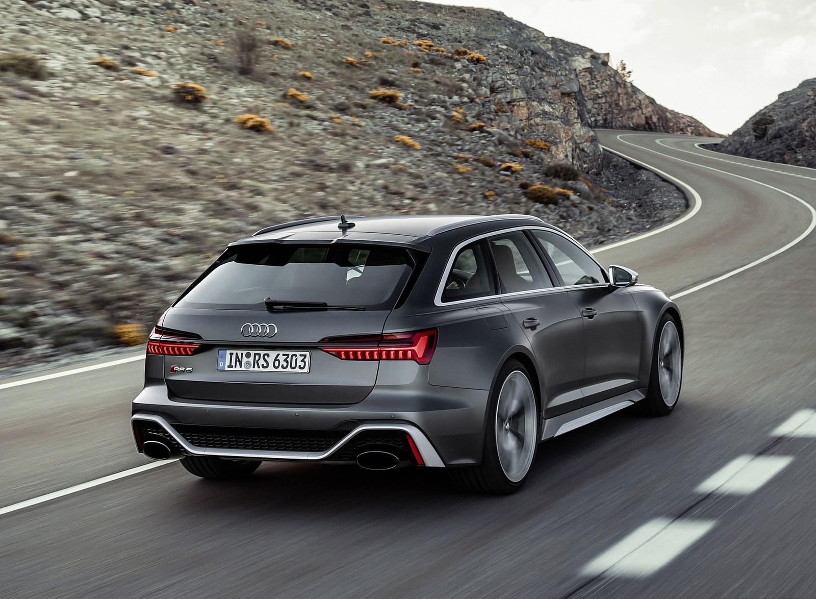 2020 Audi RS 6 Avant Rear Three-Quarter Wallpapers (2)