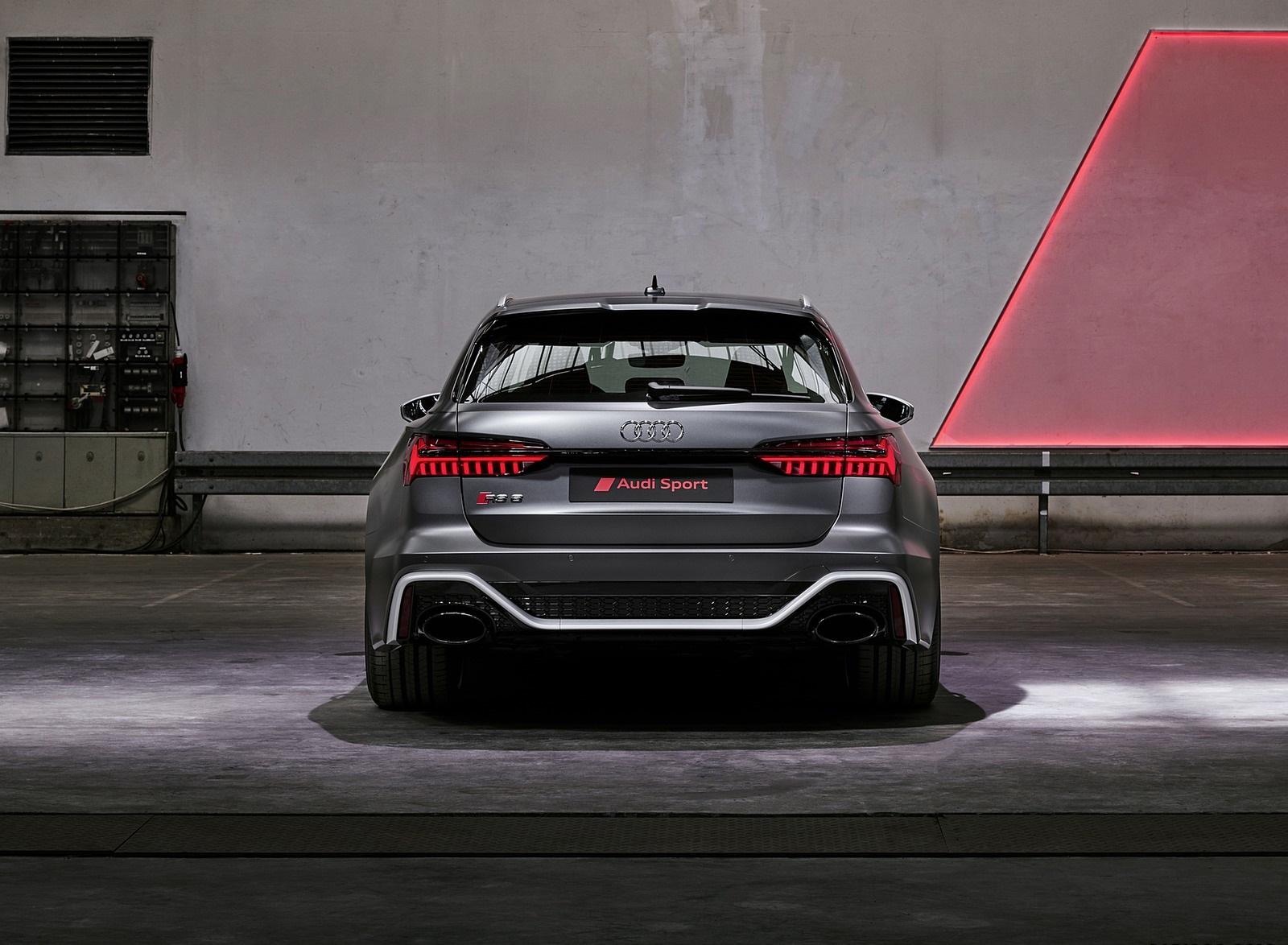 2020 Audi RS 6 Avant Rear Wallpapers (10)