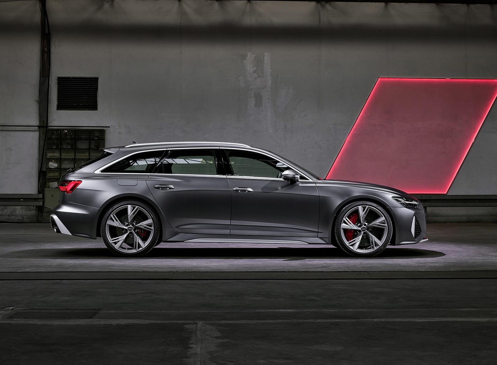 2020 Audi RS 6 Avant Side Wallpapers (11)