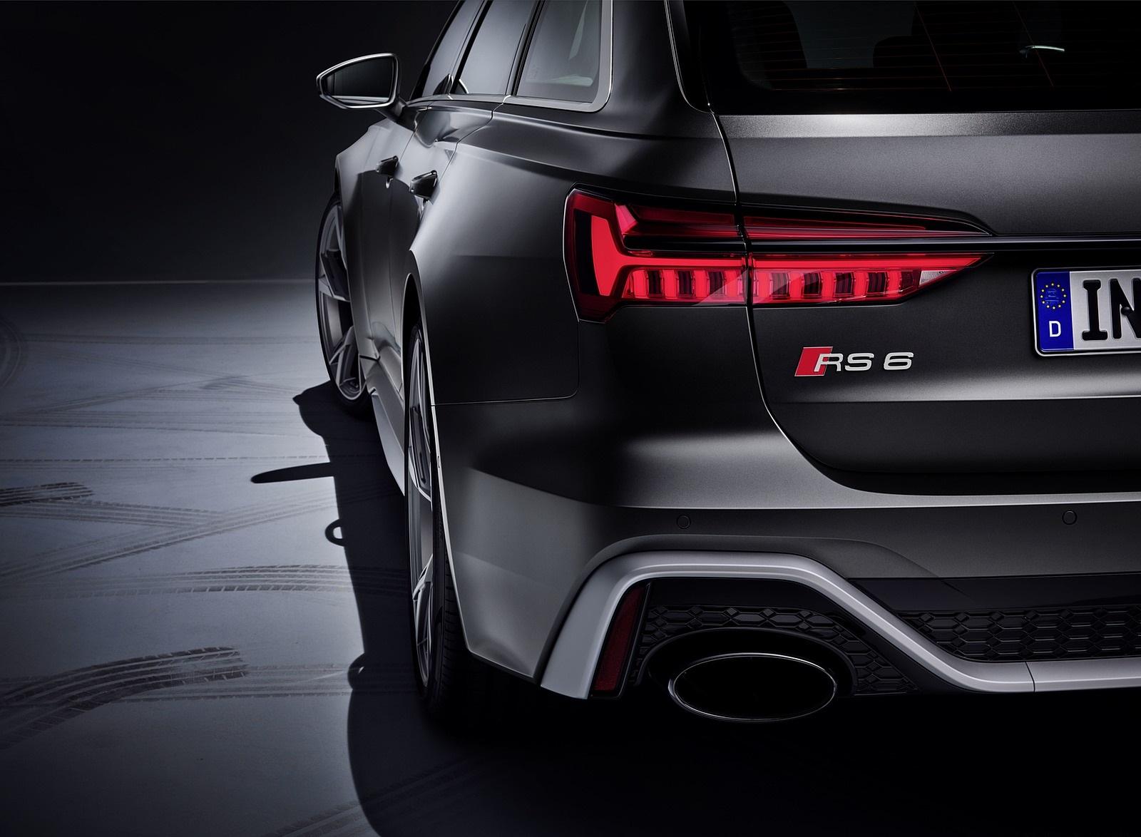 2020 Audi RS 6 Avant Tail Light Wallpapers (13)