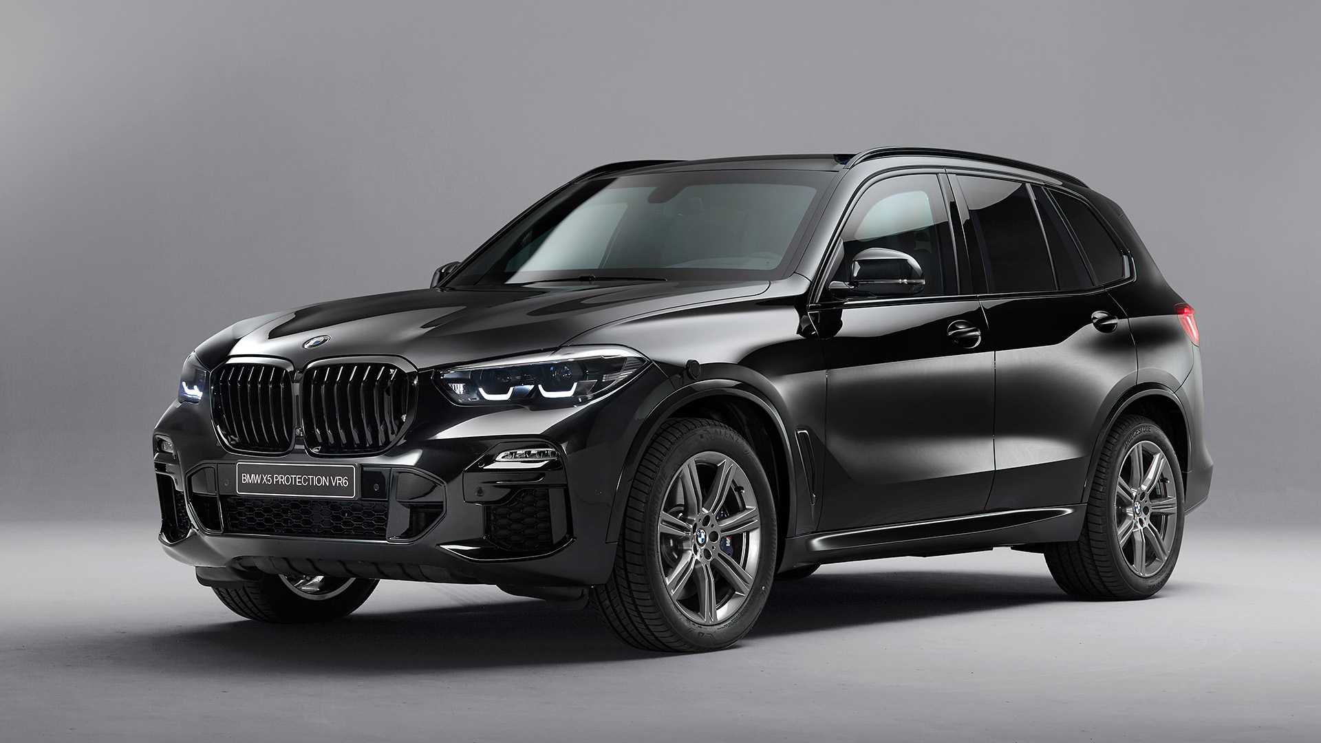 2020 BMW X5 Protection VR6 (Armored Vehicle) Front Three-Quarter Wallpapers (1)