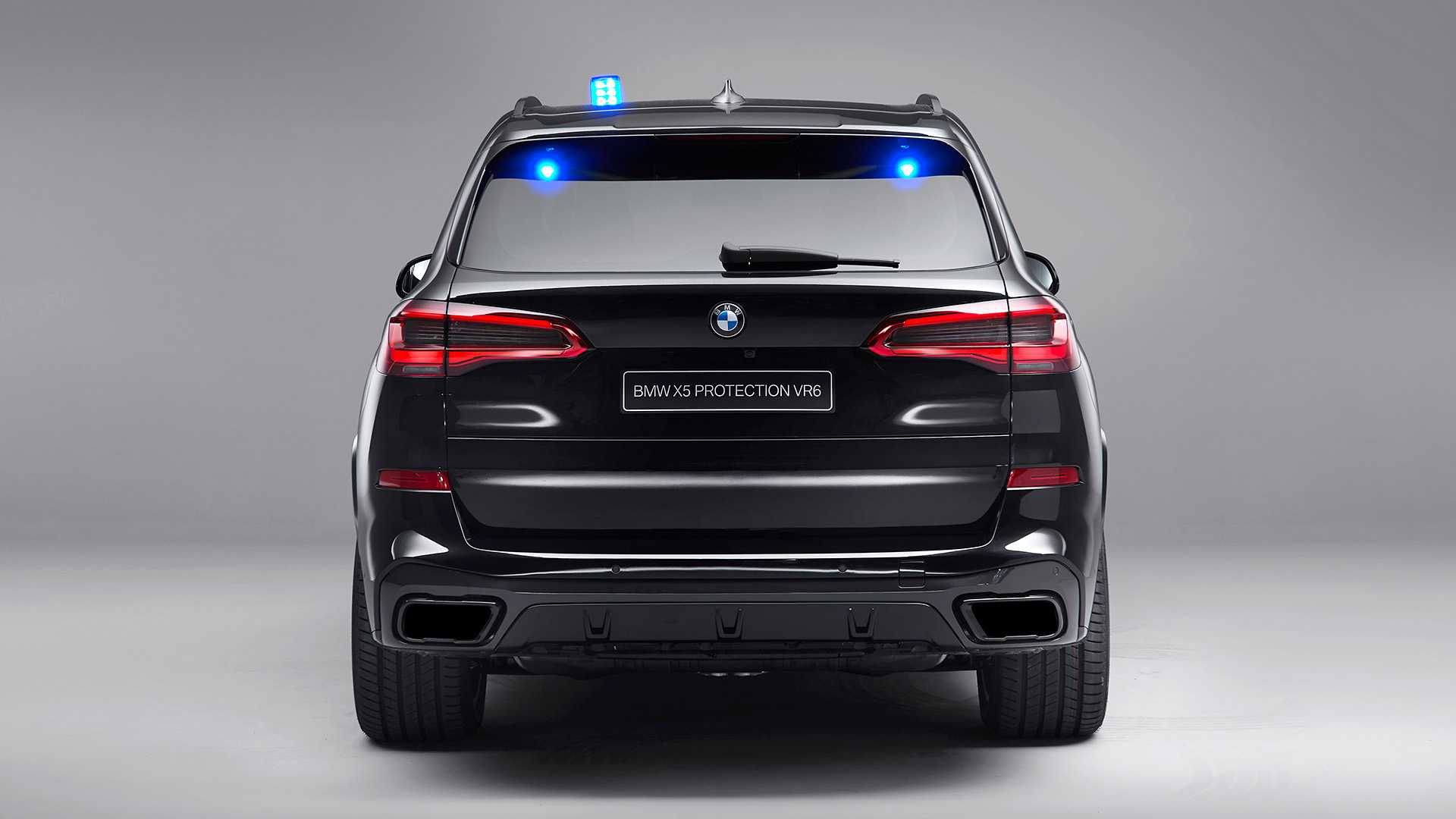 2020 BMW X5 Protection VR6 (Armored Vehicle) Rear Wallpapers (9)